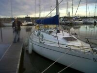 BOADICEA 30ft yacht, near Rochford