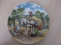 WEDGWOOD LIFE ON THE FARM SET OF 6 PLATES