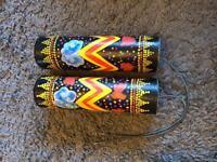 2 large Balinese thunder shakers - new and unused