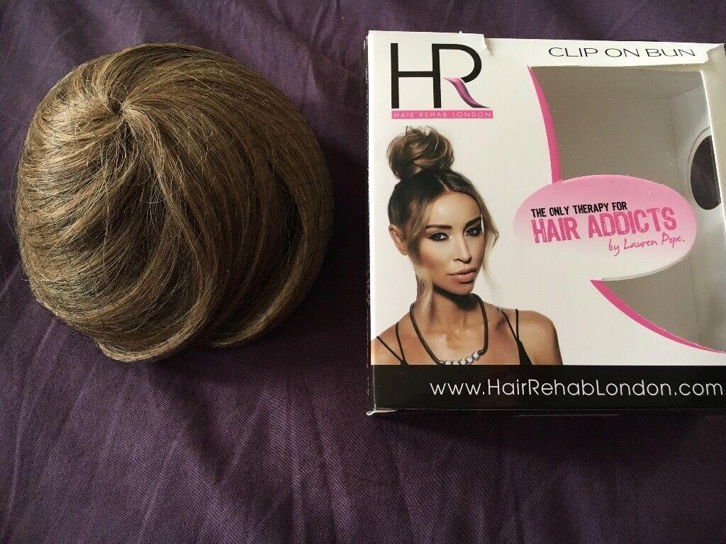 Hair Rehab London Hair Bun Extension In St Helens Merseyside