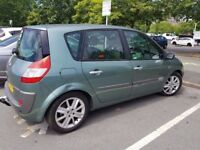 Reliable, Renault Scenic Privilege, 2005, new MOT, elec win/rear parking sensor, AUTOMATIC