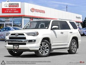 2016 Toyota 4Runner SR5 Limited Package, Previous Executive Demo