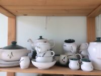 """Large selection of Denby """"Green Wheat"""" tableware"""