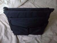 Black Red Kite Messenger Changing Bag