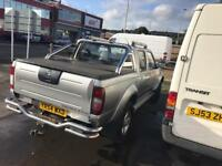 Nissan navara d22 crew cab