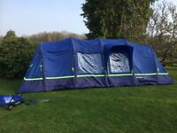 Berghaus Air 8 Tent . As New Condition, No fading, Super quick to set up. Includes groundsheets