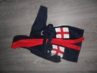 England dressing gown 2-3yrs