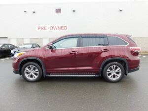 2014 Toyota Highlander LE Upgrade