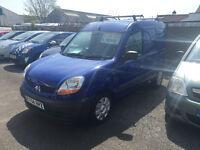 Renault Kangoo Van 1.5 Diesel Blue Side Loading Door Bulkhead Low Mileage Fantasic Van