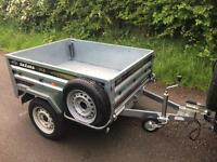Daxara 168 Tipping Trailer Camping Carboot DIY Garden Trailor 750 KG