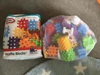 Children's waffle blocks little tikes