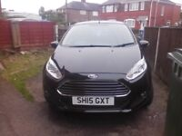 Ford fiesta low miles 2015 year