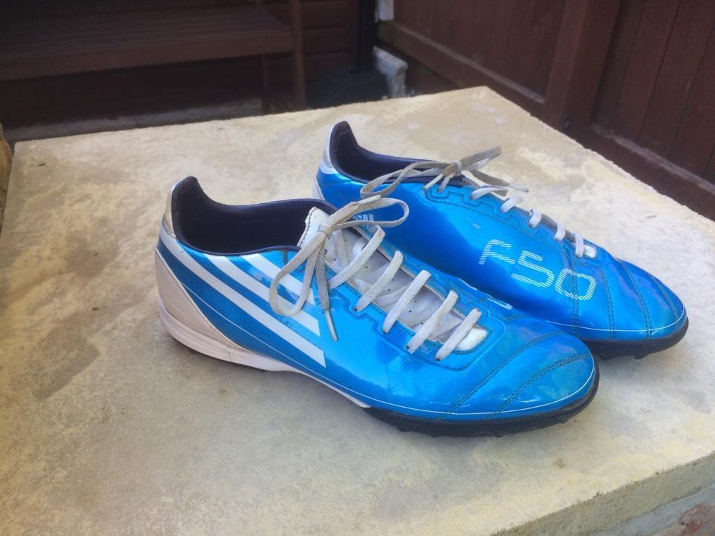 bad9a6fd33cb Adidas F50 Astro turf football trainers size 8.5 | in York, North ...