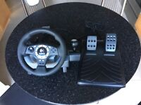 Logitech Driving Force Pro driving wheel with force feedback