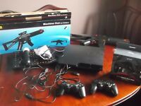 huge ps3 bundle with motion controller camera and gun