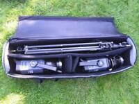 Bowen espree Gemini 500 x2 flash heads, 57cm square soft box