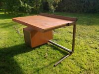Retro drawing desk from 1960's