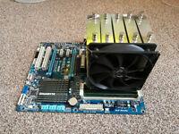 Motherboard Gigabyte GA970A-UD3, 16GB RAM,CPU Fx-8320 !!!