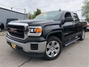 2015 GMC Sierra 1500 CREW 4X4 6PASS LOW KMS!