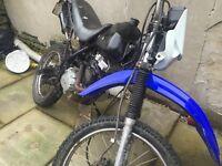 125cc off road field bike