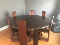 Dining table Large medieval style.