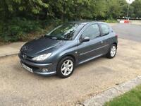 Peugeot 206 1.4 SPORT 2006. 1 YEARS MOT DRIVES THE BEST VERY ECONOMICAL
