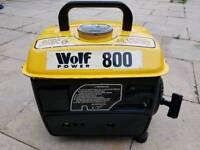 Wolf 800 watts 2 stroke generator