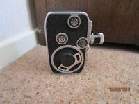 Paillard-Bolex C8 Cine Camera with case & Yashica Tripod