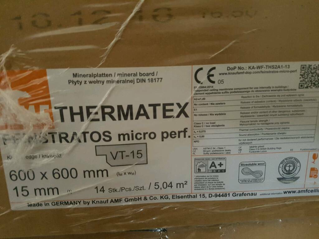 Amf thermatex fine stratos suspended ceiling tiles in sandwell amf thermatex fine stratos suspended ceiling tiles dailygadgetfo Choice Image
