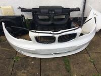 bmw 2011 1 series front end