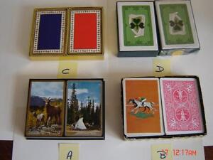 Double Sets of Playing Cards