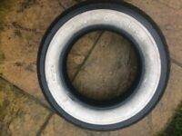 tyre white wall-17/80-15