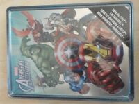 BRAND NEW - Marvel Avengers Assemble Tin - Contents include Storybook, Colouring Book & More