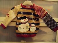 Girls NEXT Christmas jumper Age 2-3 years