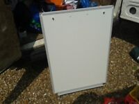 2FT X 3FT ISH A1 WHITE BOARD WITH TRIPOD LEGS. FLIPCHART DRYWIPE MARKER PEN FOR CLASSROOM SCHOOL.