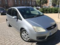 Ford Focus C-Max 1.8 Ghia 5dr,Manual,Perol*New Mot*Just serviced*Full leather
