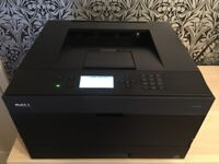 New Dell 3330dn A4 Duplex Mono Laser FAST Printer with a full genuine toner will yield 7000 pages