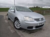 VOLKSWAGEN GOLF 1.9 MATCH TDI 5d 103 BHP 6 Month RAC Parts & Labour Warranty