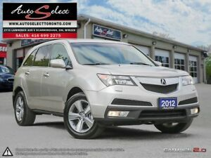 2012 Acura MDX AWD ONLY 91K! **CLEAN CARPROOF** BACK-UP CAMERA