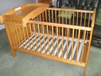 Mama & Papas - Hayworth Cot Bed/Toddler Bed - Vintage Pine