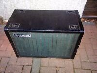 EMPTY 2 X 12 INCH SPEAKER CABINET GOOD STRUCTURAL CONDITION BARGAIN NORTH LONDON