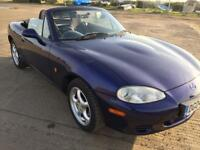 Summers on its way treat yourself to this lovely little mx5 convertible