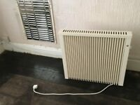 Fischer and Cornwall electric radiators x5 + remote thermostat and timer