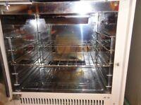 SPINFLO S2000 STAINLESS STEEL LPG caravan gas oven