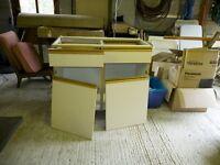 Free Ex kitchen unit suitable for garage/workshop