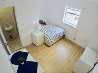 2 DOUBLE ROOMS (ONE ENSUITE) AVAILABLE IMMEDIATELY IN NEASDEN - NEAR IKEA AND BIG TESCO - NW10 9BY
