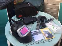 Speedglas 9100mp 3m welding helmet + 9100xx lens + adflo kit + 4 x batteries + hold-all bag