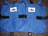 2 Gala Tent Gazebo weight bags for placing around gazebo legs very good condition used once