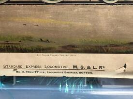 Train prints