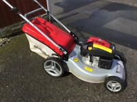 Mountfield SP533 Petrol Lawnmower Self propelled Fully Serviced Very Large 51cm Cutting Width